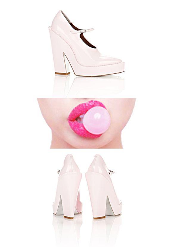 """Bubble Gum"" on Sandra Style Alexander Wang  http://sandrafashiondiary.es"