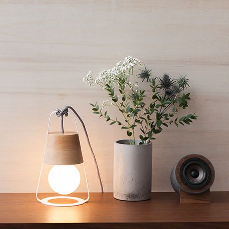 Lantern lamp by HOP Design