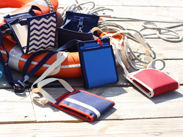 Ti Sac Collection Marin Summer 2017 [EN] Our 2017 Nautical collection, a variety of styles for these bags, that can be used either as standard cross-body handbags or travel pouch [FR] La collection 2017 Marin, avec une variété de styles pour ces sacs qui peuvent être utilisés comme sac à main bandoulière traditionnel ou une pochette de voyage #bum_bag #travel_clutch #sac_style_marin #nautical_look_bags More > https://www.tisac.shop