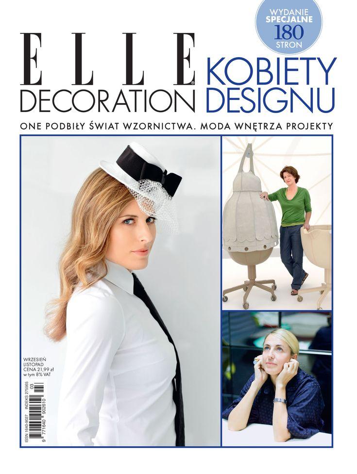 Wydanie specjalne ELLE Decoration Kobiety Designu