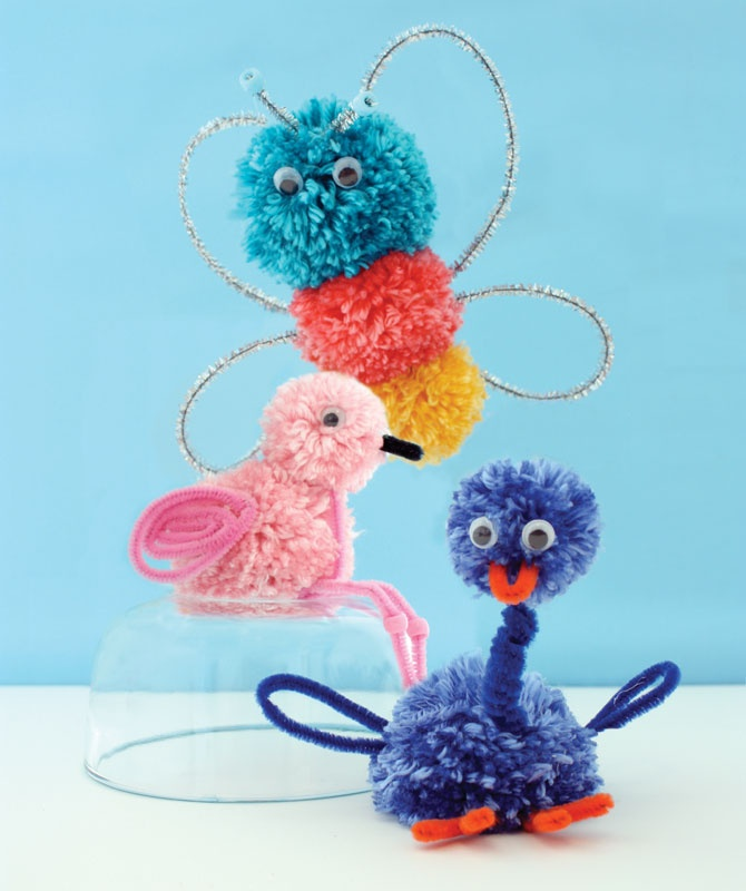 Free Project Tutorial   Pompom Critters
