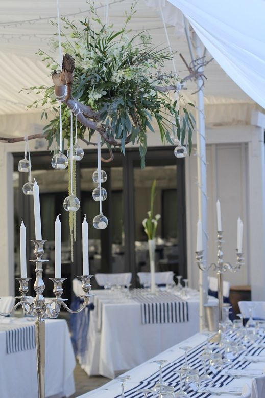 Orchids and glass orbs make a statement at The Venue, Wanaka