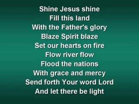Shine Jesus Shine (worship video w/ lyrics) - YouTube