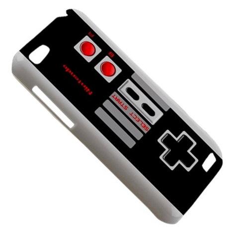 New Retro NES Controller HTC One V Hardshell Case Cover HTC One V Case Cover Classic Video Game Controller