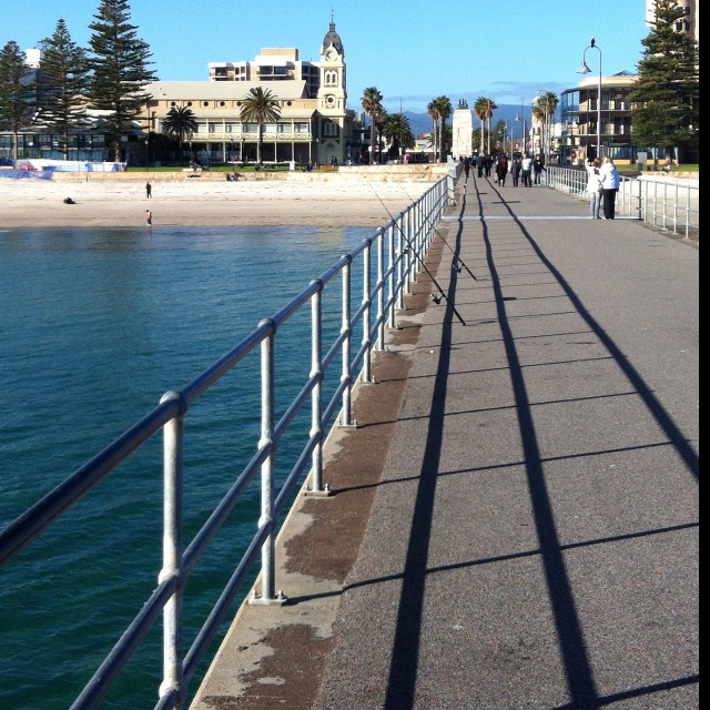 Glenelg - South Australia - a lovely beach and a very popular spot with great shopping and eateries.