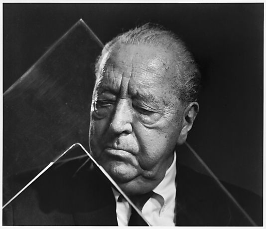 mies van der rohe by yousuf karsh images some. Black Bedroom Furniture Sets. Home Design Ideas
