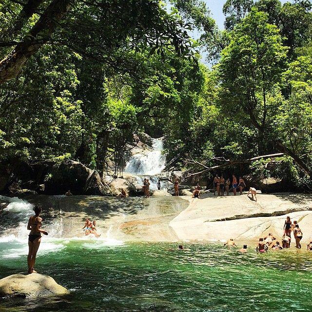 Josephine Falls summer fun park! Image by hannahstatham #exploretnq #thisisqueensland