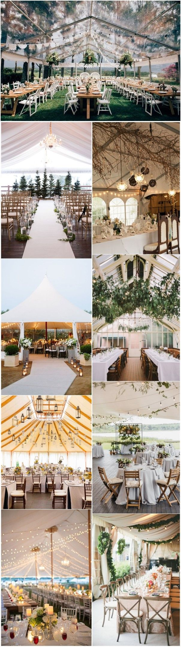22 Outdoor Wedding Tent Decoration Ideas Every