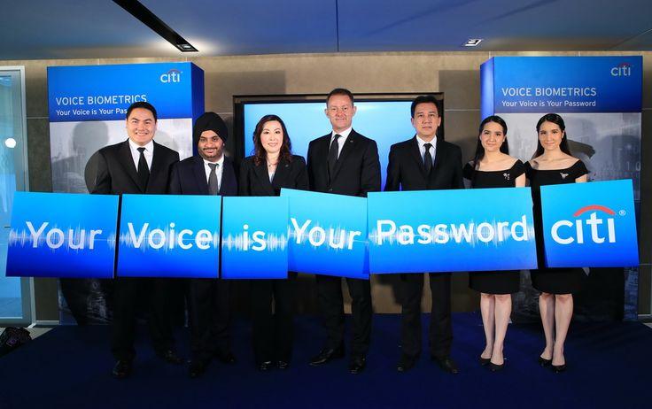 """ซิตี้ ประเทศไทย รุดหน้าใช้นวัตกรรม Voice Biometrics ให้ลูกค้ายืนยันตัวตนด้วย """"เสียงพูด"""" ครั้งแรกของภาคธุรกิจการเงินและการธนาคารในประเทศไทย - http://www.thaimediapr.com/%e0%b8%8b%e0%b8%b4%e0%b8%95%e0%b8%b5%e0%b9%89-%e0%b8%9b%e0%b8%a3%e0%b8%b0%e0%b9%"""