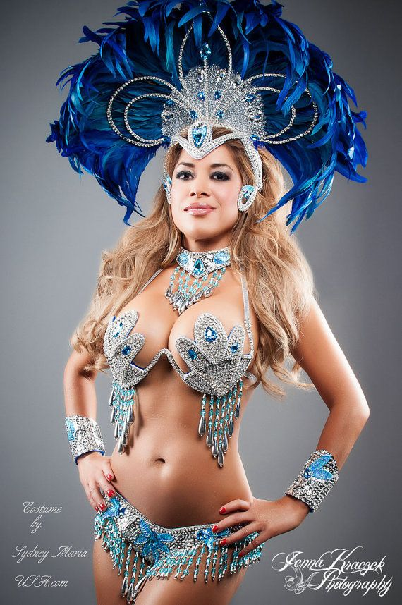 AQUAMARINE Samba Costume. $999.00, via Etsy.