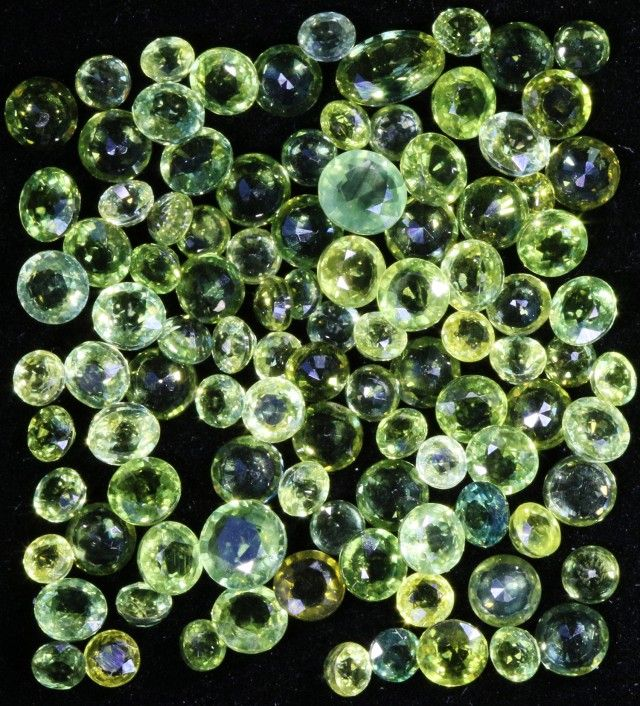 26.10 Cts Commercial Parcel parti green  Sapphire GOGO 1583 sapphires, Australian sapphire, Africa sapphires, sir lanka sapphires ,parcel sapphires