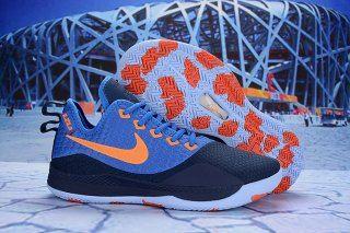 768b550f106a Nike LeBron Witness III Blue Obsidian Orange Men s Sneaker Basketball Shoes