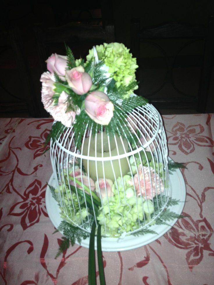 decoracin de jaula blanca para cumpleaos por luis mata vintage https