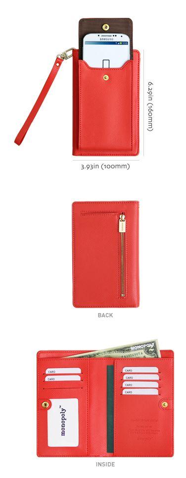 Classy Galaxy Smartphone Wallet