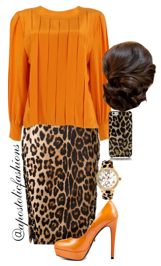 """""""Apostolic Fashions #819"""" by apostolicfashions on Polyvore featuring Altuzarra, Hardy Amies, Blink, Betsey Johnson and Kate Spade"""