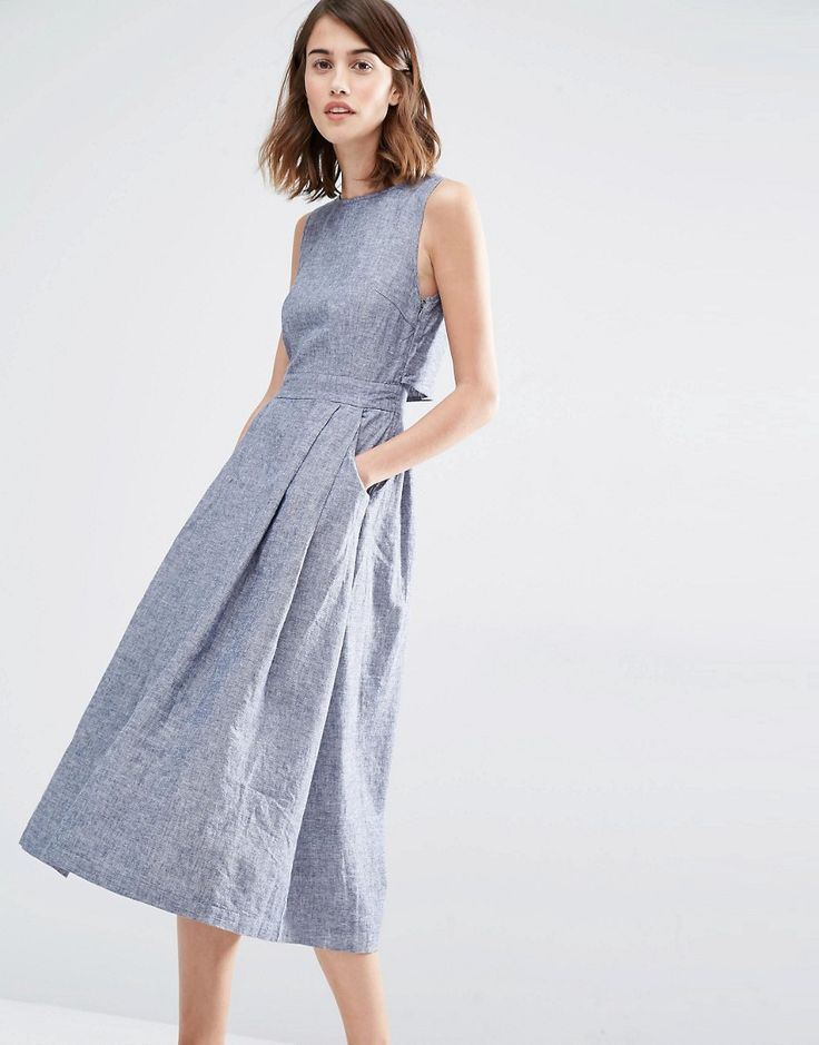 Because summer is hot. Give me all the linen dresses!