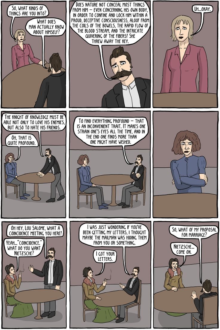 Existentialist dating