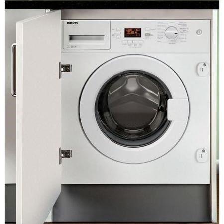 Beko WMI71641 7kg 1600rpm Integrated Washing Machine   Appliances Direct