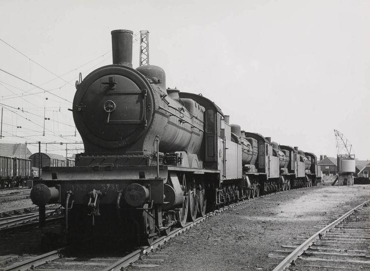 Zwolle NS-Stoomlocomotieven 1957