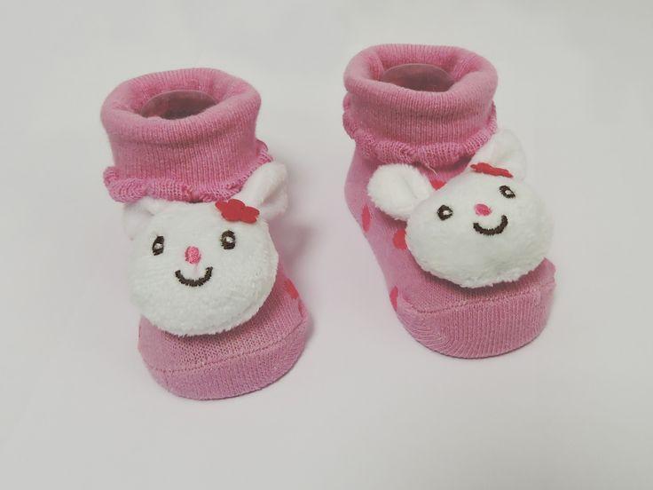 Essa gracinha de par de meias tem tudo a ver com a Páscoa e vai deixar os pequenos temáticos! Você encontra na Tony Toys Baby do Shop São José por apenas R$19,90! #ShopSãoJosé #PáscoaSSJ