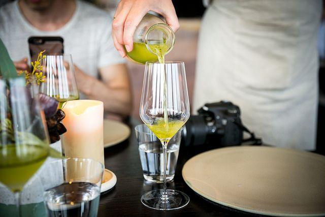Drink: Green Tomato / Lemon Myrtle | by City Foodsters