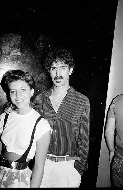 Frank Zappa and Moon Unit Zappa