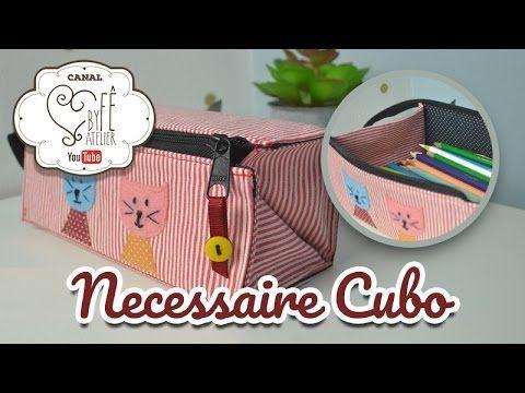 DIY::: Necessaire Cubo - By Fê Atelier