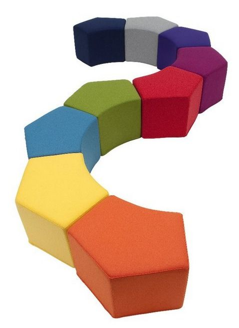 BCI Children's Kids Library Furniture Seating: What if we just had these (or something similar) as seating in the library. We could have enough for one class, and instead of kids sitting on the floor, they could each have a block to sit on.
