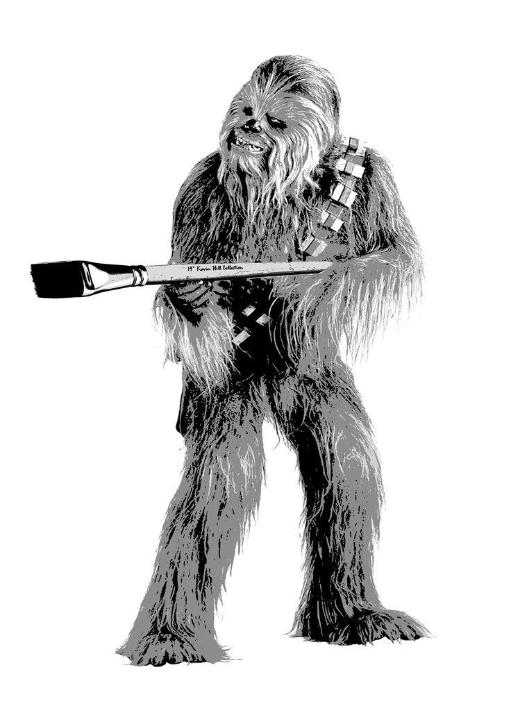 Chewie Punch it Chewie  Follow Kreuzart on Facebook, Instagram and Youtube