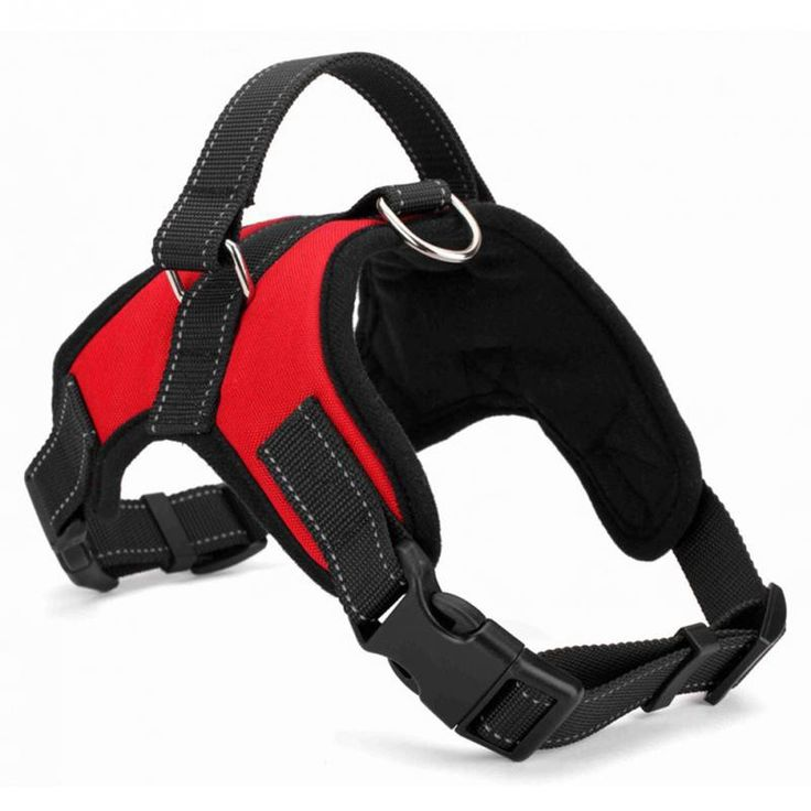 New Big Dog Soft Adjustable Harness Pet Large Dog Walk Out Harness Vest Collar Hand Strap for Small Medium Large Dogs *** Click the VISIT button to view the details
