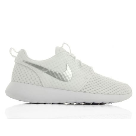 Nike Roshe Run BR White/White-Wolf Grey 7724850-100