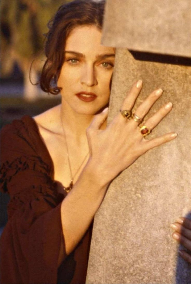 Madonna by Herb Ritts for Like A Prayer (1989). Session 3.