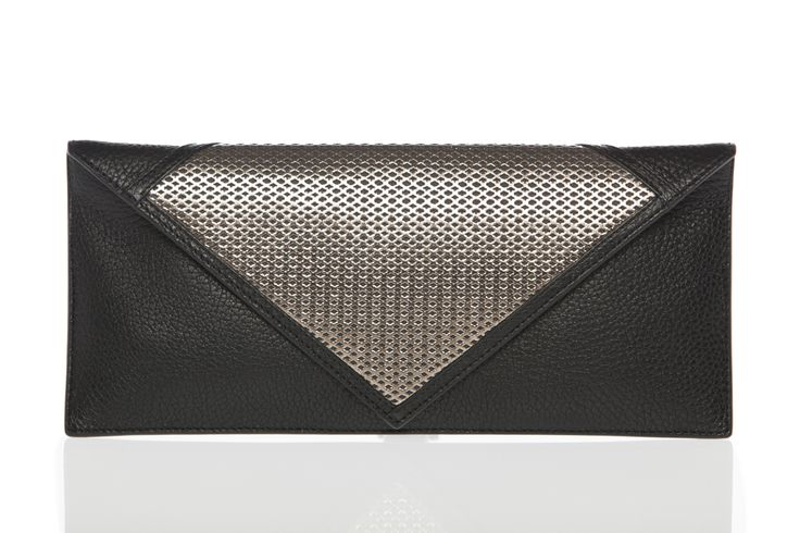 Bianca clutch. Photograph: Ruggero Mengoni.  Made in Italy.