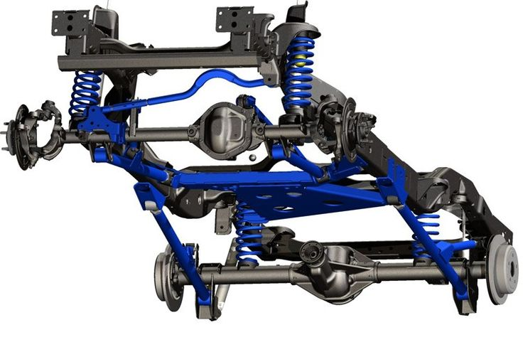 4in Long Arm Suspension Lift Kit For 07