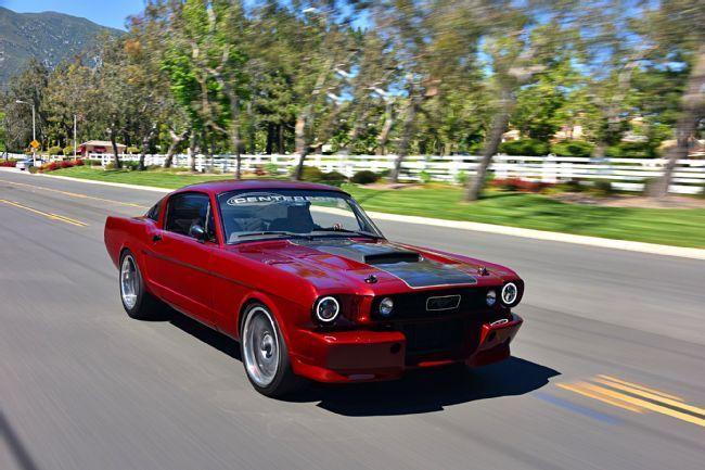 Youth Mentoring Program Builds a Killer 1965 Restomod Mustang