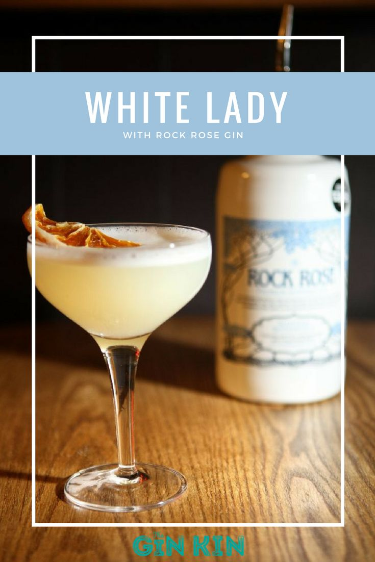 WHITE LADY COCKTAIL. Just in case you've been living under a rock these past few weeks... We've been working on a gin cocktail series with The Boozy Cow Dundee.  Our latest recipe is for a white lady cocktail, complete with rock rose gin, tripple sec, lemon juice and more. Check out our YouTube channel for instructions or theginkin.com for the full recipe. https://www.youtube.com/watch?v=QTosledZ6NI&t=6s