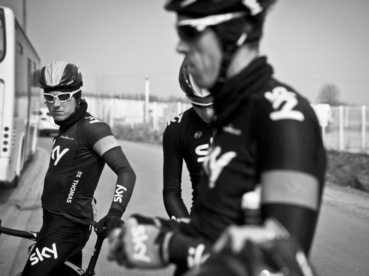 SCOTT MITCHELL - ROUBAIX RECON GALLERY Geraint Thomas is motivated to bounce back from his crash last weekend in Flanders