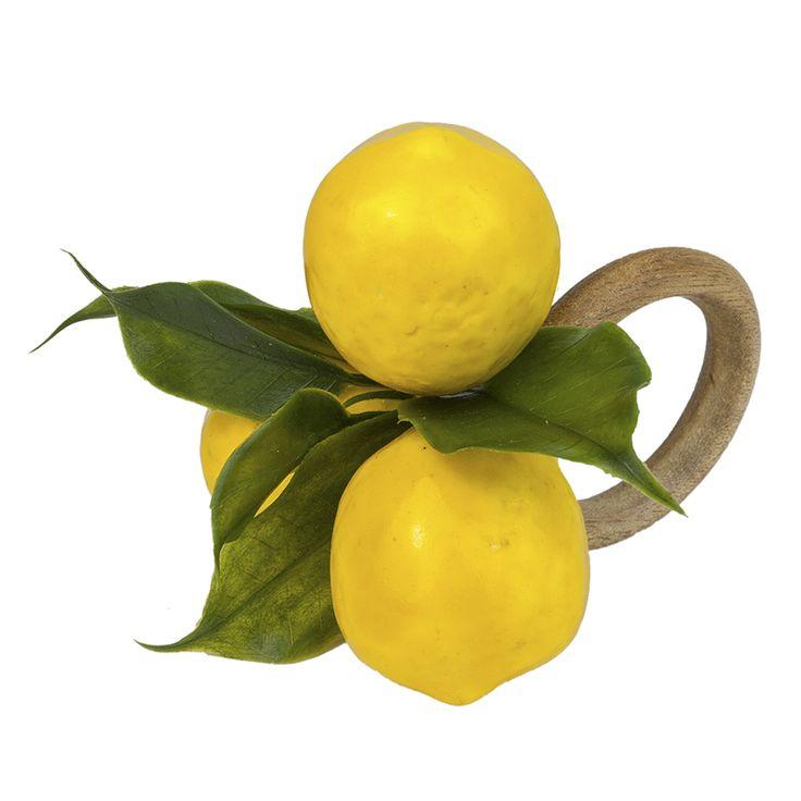 Porta Guardanapo Sicília - lemon napkin ring