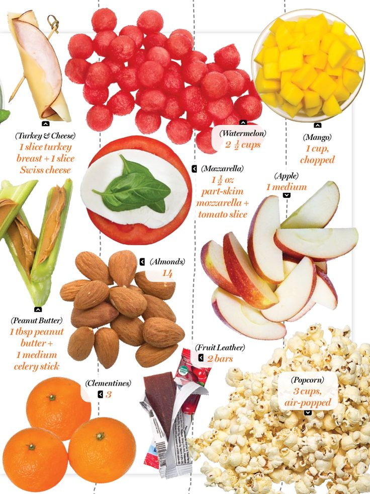 100 calorie snacks: perfect for weight loss! #healthyliving #eatright #weightloss