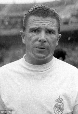 Ferenc Puskas was imperious in a Madrid shirt