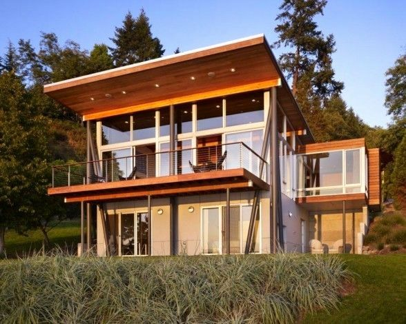 Image Result For Modern Shed Roof Design Basement House Plans House Roof Cabin Design