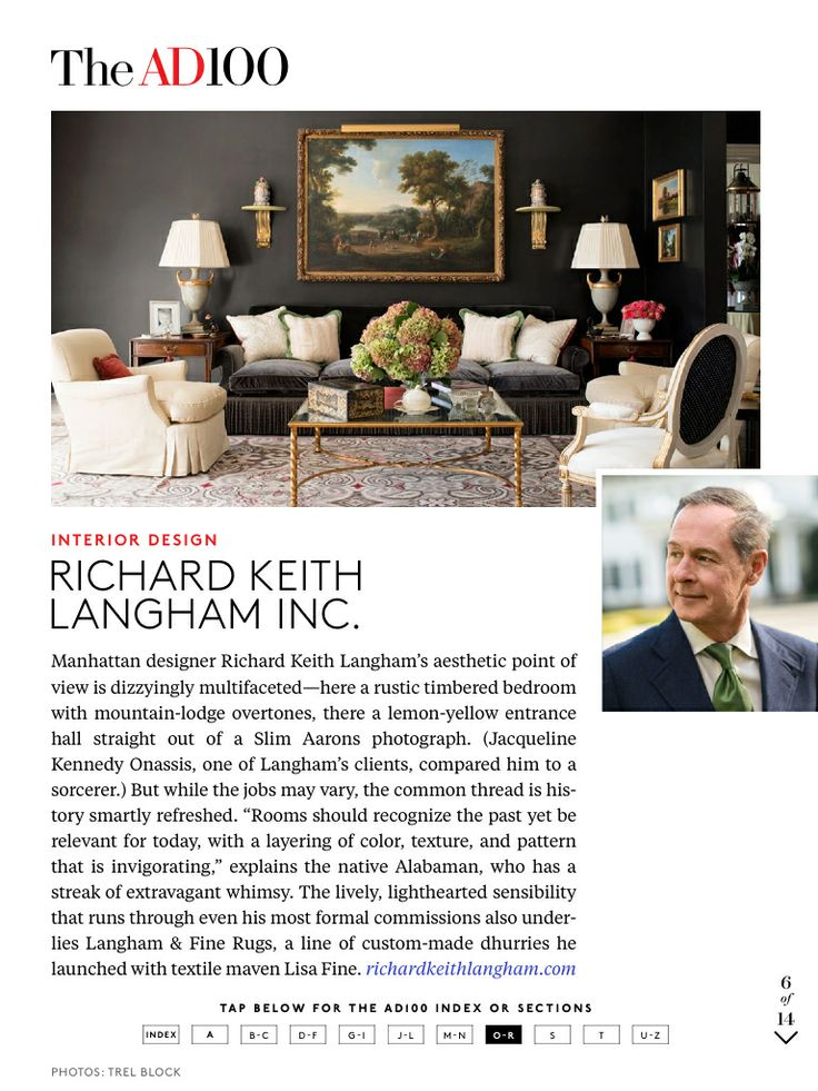 17 Best Images About Design Richard Keith Langham On