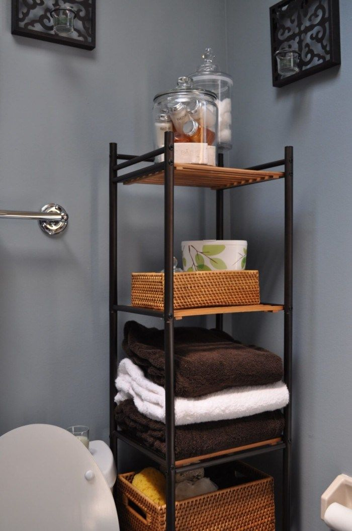 44 Creative Small Bathroom Storage Ideas that