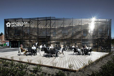 Dalarna University, Dalarna County, 2014 - Adept Architects, Sou Fujimoto Architects