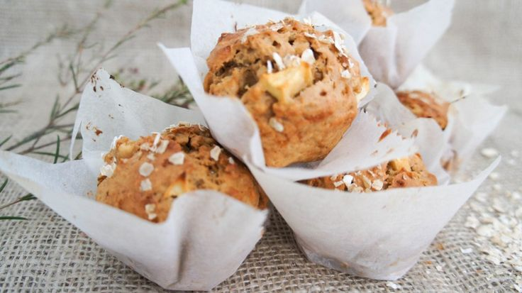 Life changing ontbijtmuffins met appel en kaneel - Little Spoon