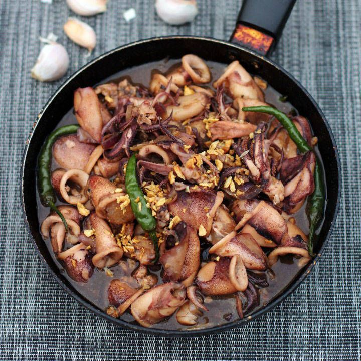 Adobong Pusit Recipe, easy to fix and a very versatile dish since it can accommodate just about any main ingredients and easy to prepare.