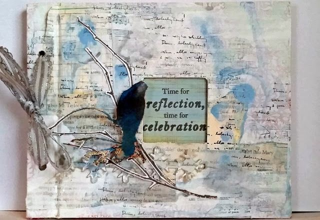 PaperArtsy: 2015 #23 Altered Gift Album {by Kate Yetter}