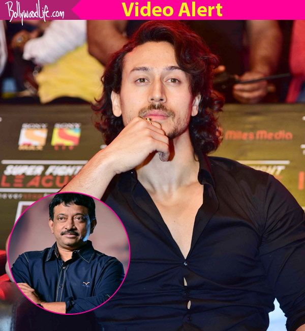 Tiger Shroff FINALLY reacts to Ram Gopal Varma's tweets on his machismo – watch video #FansnStars