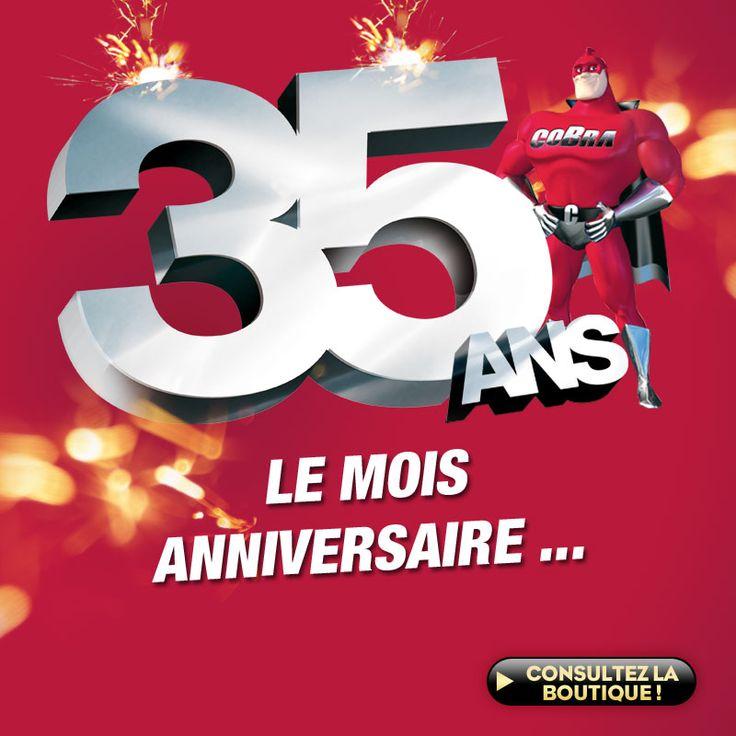 35ème anniversaire Cobrason : des promos en pagaille !!! |  #bonplan #promo #Cobrason #Hightech #HomeCinéma #HiFi #Audio