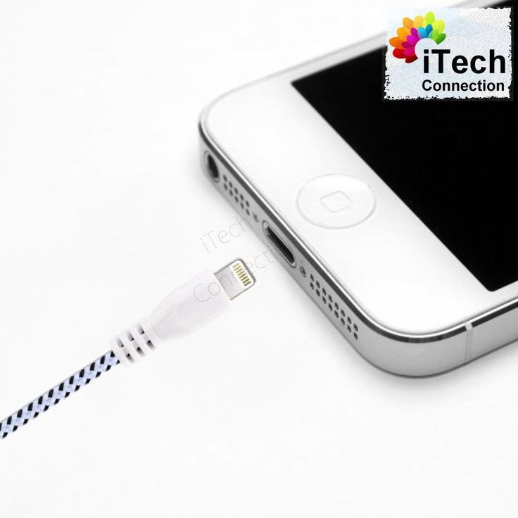 10FT Braided Nylon USB Data Sync Charger Cable Cord fit iPhone 6 6S Plus 5S 5C 5  #iPhone #Cables #Adapters